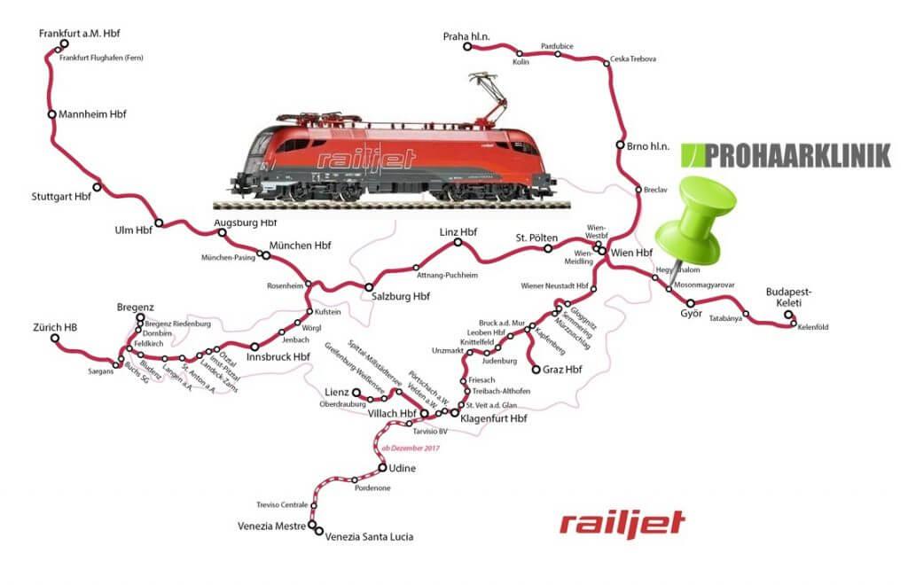 Railjat Zug