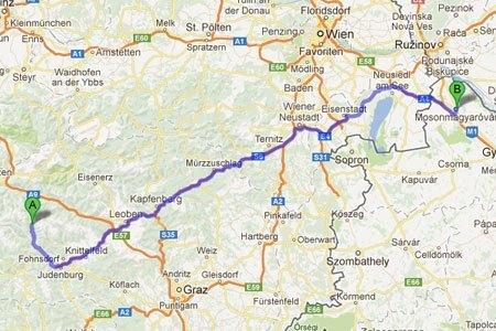 Haartransplantation nahe der Steiermark in Ungarn