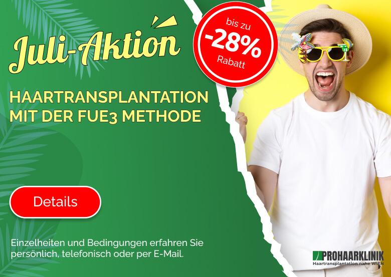 Haartransplantation Aktion