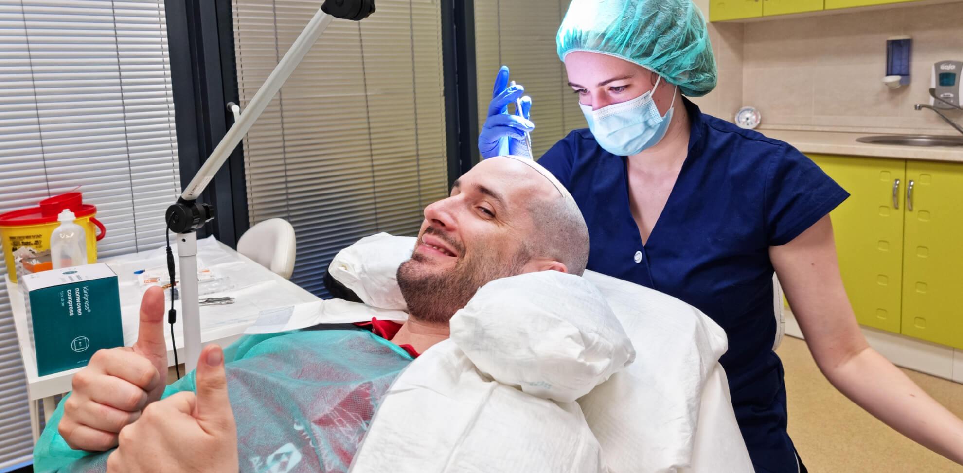 Haartransplantation nahe Wien